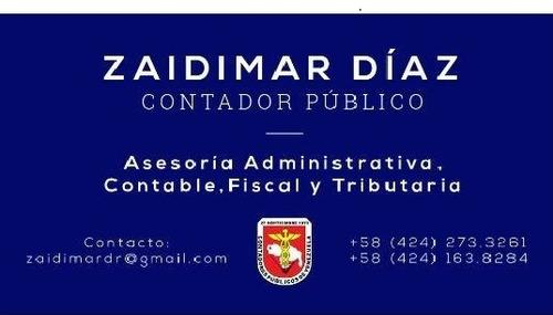 servicios contables y administrativos, contador publico