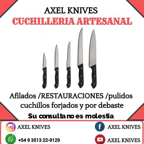 servicios de afilados pulidos restauraciones de cuchillos