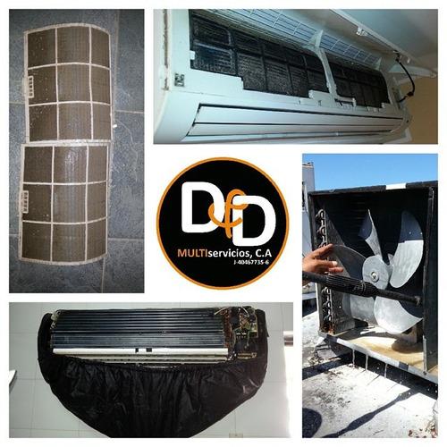 servicios de aires acondicionados domesticos e industriales.