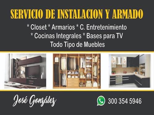 servicios de armado de muebles e instalaciones en general