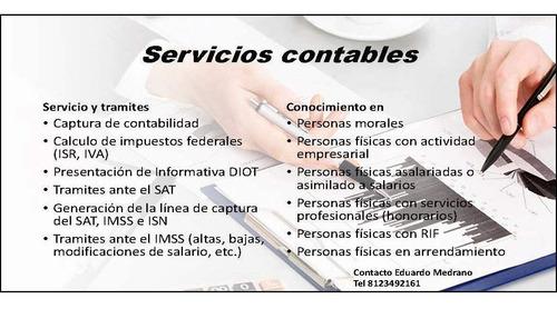 servicios de asesoria contable y fiscal