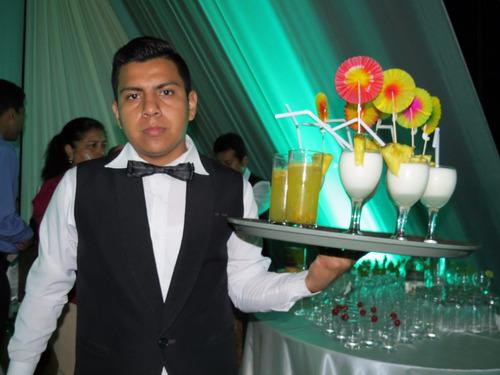 servicios de bartender open bar barras y menaje trujillo