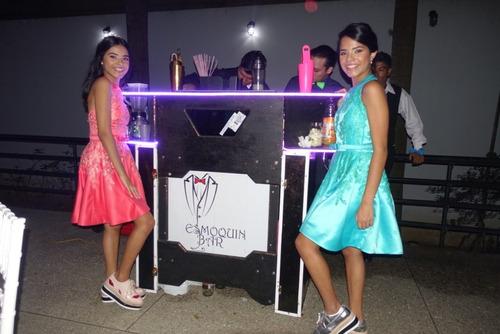 servicios de bartender y barras moviles para fiestas caracas