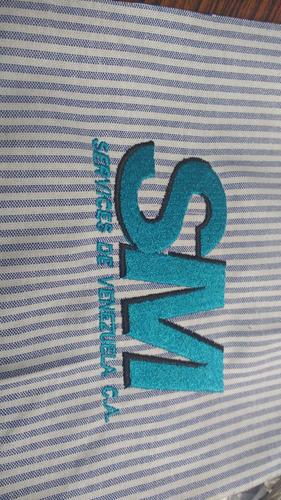 servicios de bordados diseños   cortes ojal y boton
