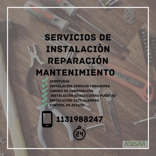 servicios de cerrajeria general, servicios a domicilio.