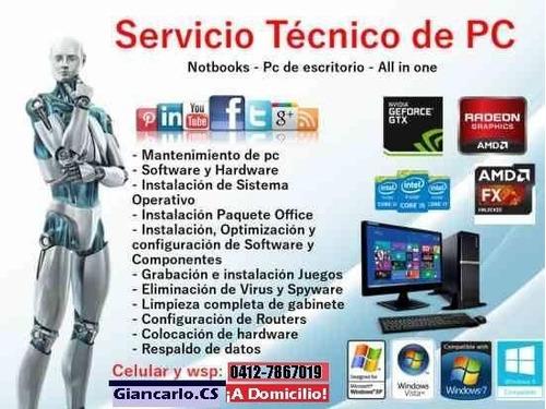 servicios de computación a domicilio