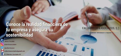 servicios de contabilidad, administración, recursos humanos