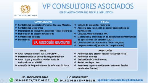 servicios de contabilidad y auditoria.