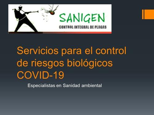 servicios de control de plagas y sanidad ambiental