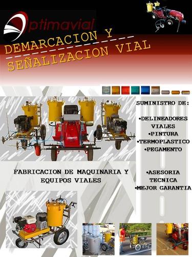 servicios de demarcación y señalización vial