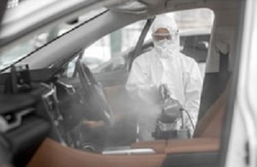 servicios de desinfección  desinfección vehículos