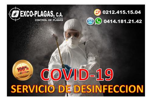 servicios de  desinfección y fumigacion