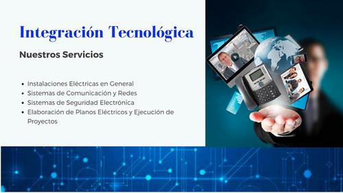 servicios de electricidad y comunicaciones.