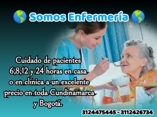 servicios de enfermeria a domicilio.