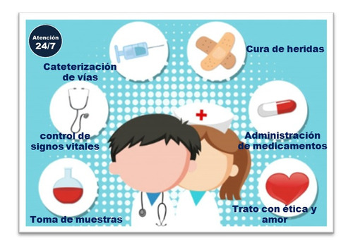 servicios de enfermería a domicilio