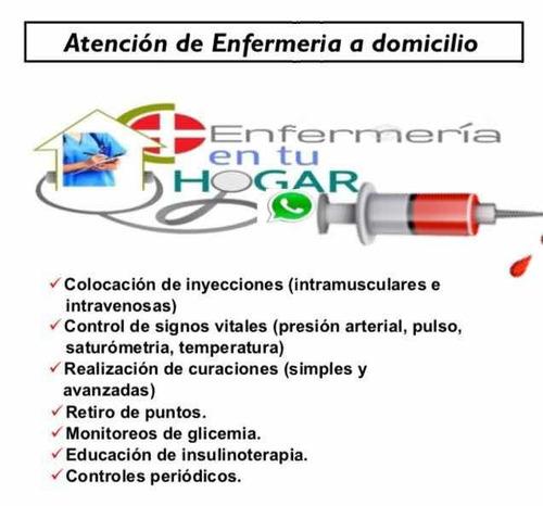 servicios de enfermería a tu hogar
