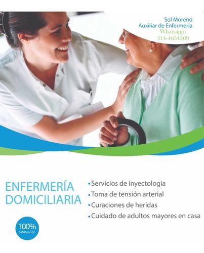 servicios de enfermería domiciliaria