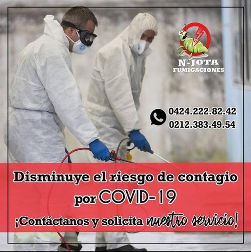 servicios de fumigación  y desinfección (covid-19)