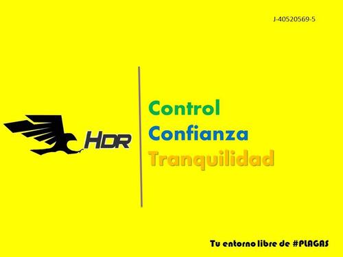servicios de (fumigaciones)  control de plagas halcones dr