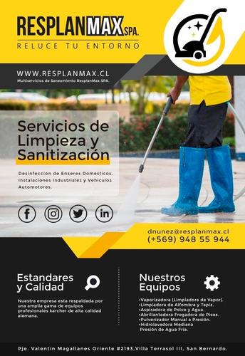 servicios de higienización y santitizacion