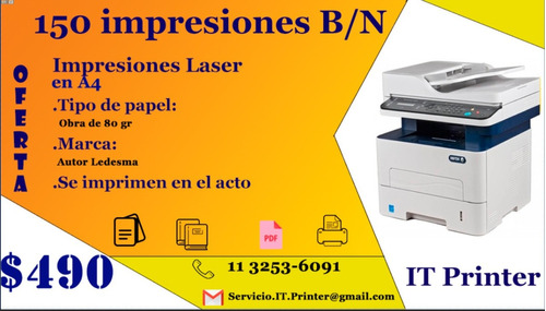 servicios de impresión