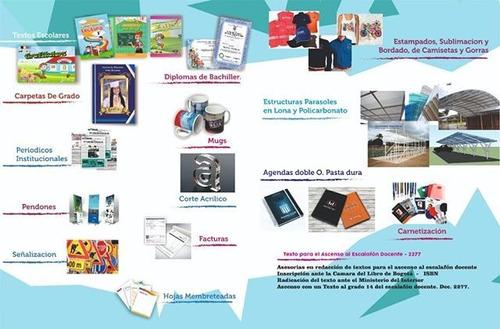 servicios de impresión y estampados