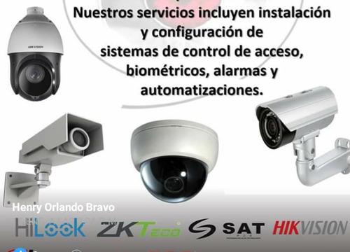 servicios de instalación y reparación de cámaras
