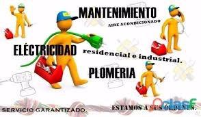 servicios de instalaciones y mantenimiento en general