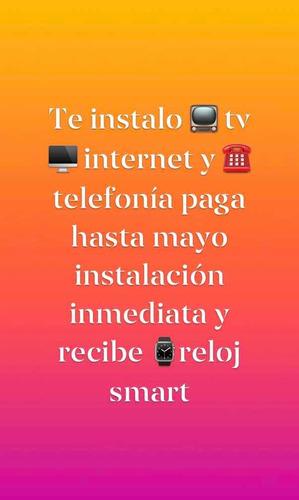 servicios de internet telefonía televisión