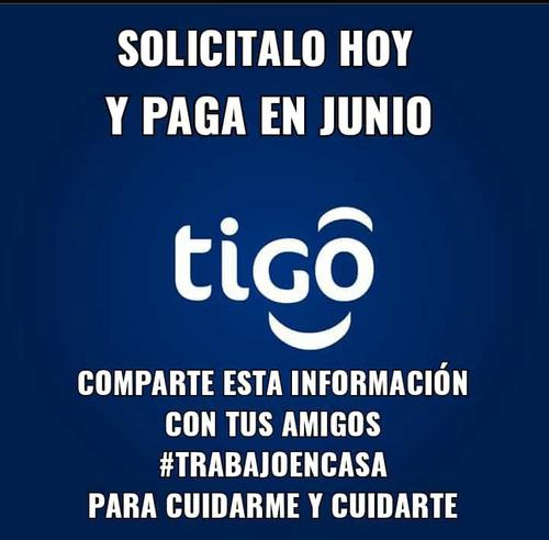 servicios de internet + televisión + telefonia