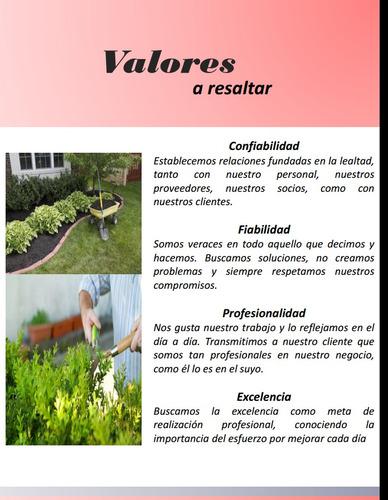 servicios de jardinería en general, poda de arboles y obras