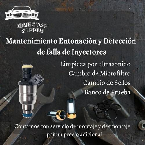 servicios de limpieza de inyectores por ultrasonido