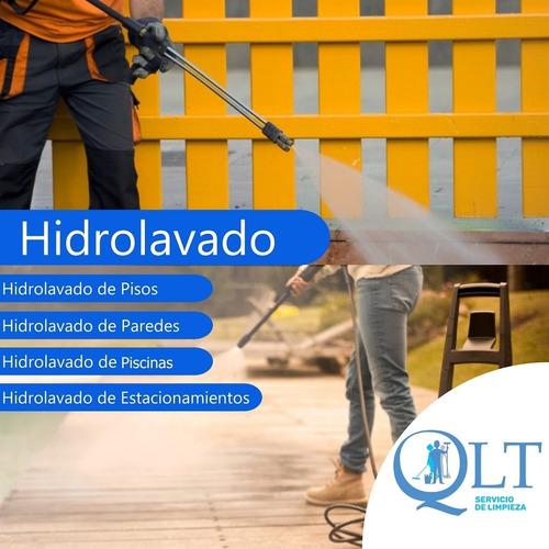 servicios de limpieza,hidrolavados y final