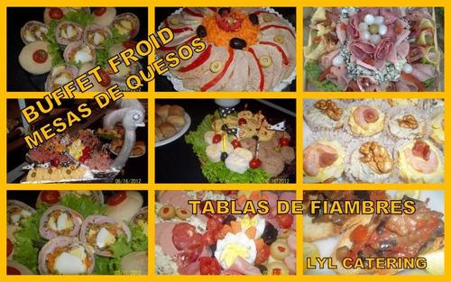 servicios de lunch y catering !! lyl !! menú economico.