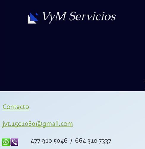 servicios de mantenimiento general