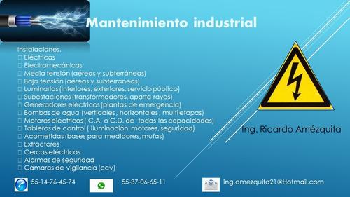 servicios de mantenimiento industrial