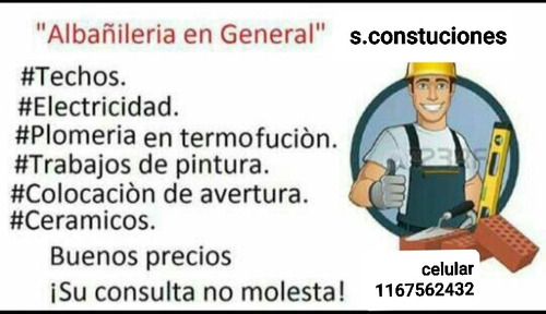 servicios de mantenimiento para el hogar y obras