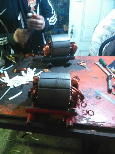 servicios de mantenimiento y rebobinado de motores eléctrico