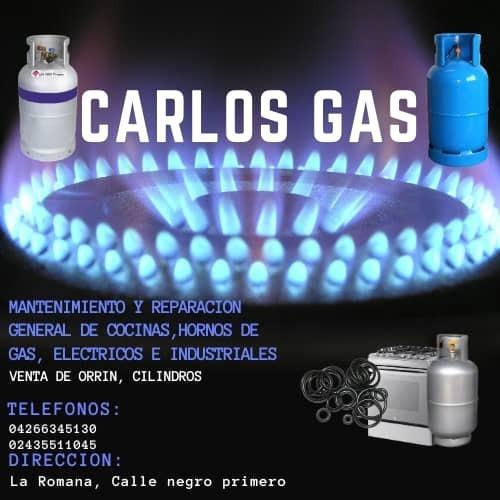 servicios de mantenimientos de cocinas de gas y orín de gas