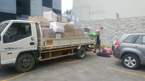 servicios de  mudanzas y eliminación de desmonte