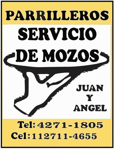 servicios de parrilleros y mozos