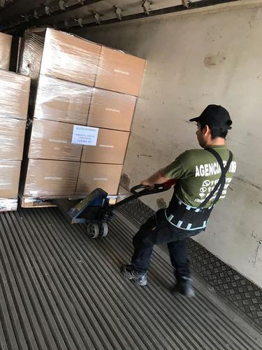 servicios de peones para carga/descarga/armado de eventos