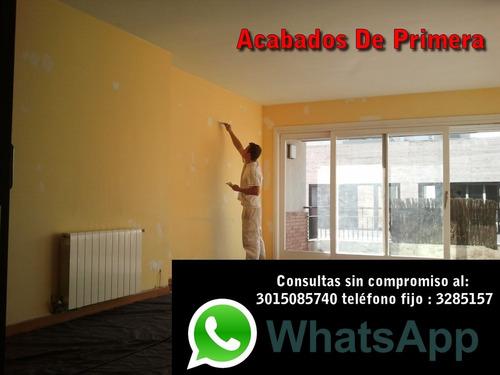 servicios de pintado en viviendas, departamentos y locales