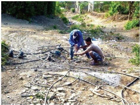 servicios de plomería, electricidad, reparación y otros