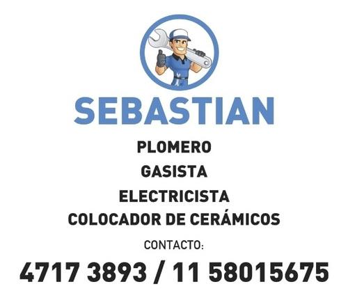 servicios de plomeria gas electricidad y colocación de cerám