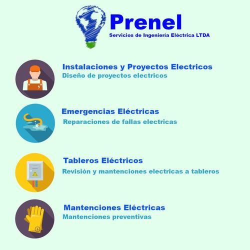 servicios de proyectos y ejecuciones eléctricas