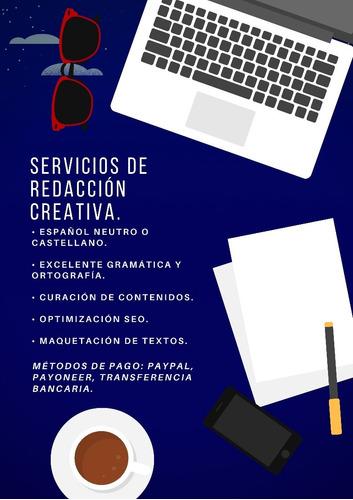 servicios de redacción