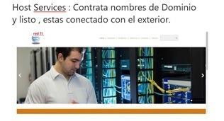 servicios de redes , hosting, ftp server y seguridad.