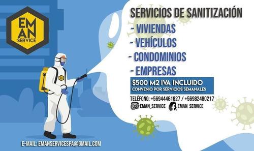 servicios de sanitización