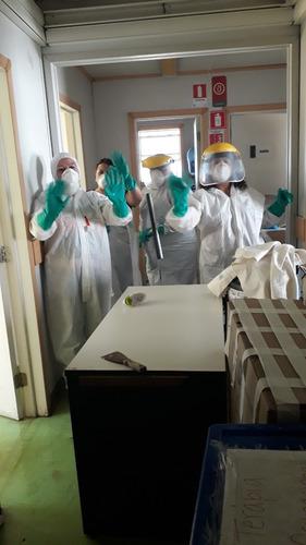 servicios de sanitización desinfección aseo limpieza